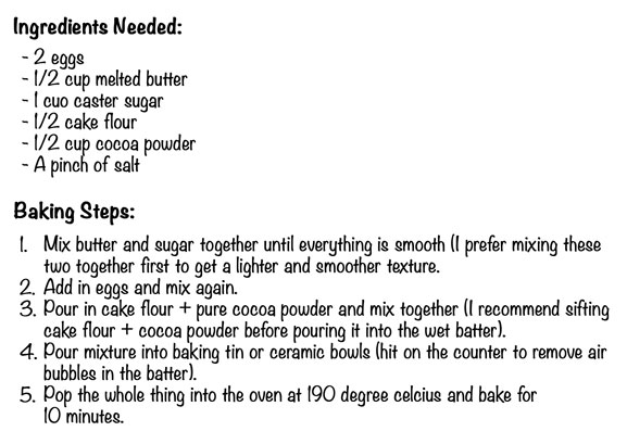 brownie-ingredients-&-steps